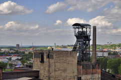 Vitkovice mining tower Royalty Free Stock Photo