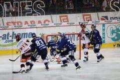 vitkovice prague scrable sparta хоккея hc против Стоковые Изображения RF