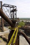 Vitkovice stål maler infrastructre Royaltyfri Bild