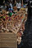 Vitlök i gammal marknad Royaltyfri Bild