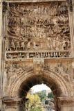 Båge av Septimus Severus Royaltyfri Fotografi