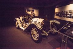 VitMercer 1912 Model 35-C Raceabout Arkivfoto