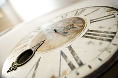 Vitnage-Uhr Lizenzfreie Stockfotos