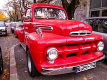 Vitntage mooie Amerikaanse auto Royalty-vrije Stock Afbeelding
