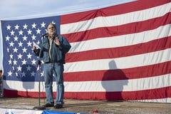 Vito Barbieri an der Progewehrsammlung. Stockbild