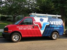 Vito instalacja wodnokanalizacyjna i Grzejna deaktywacja Obrazy Royalty Free