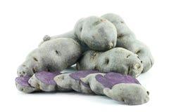 Vitolette noir ή πορφυρή πατάτα Στοκ φωτογραφία με δικαίωμα ελεύθερης χρήσης