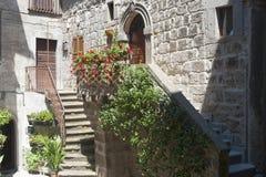 Vitorchiano, old house Stock Photo