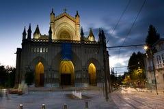 Vitoria大教堂  免版税库存照片
