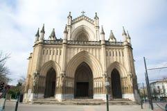 Vitoria大教堂 库存图片