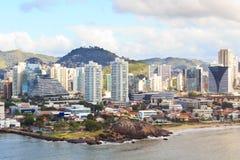 Vitoria,韦利亚镇,圣埃斯皮里图,巴西的市中心 免版税库存图片