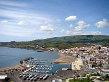 Vitoria City - Terceira Island Royalty Free Stock Photography