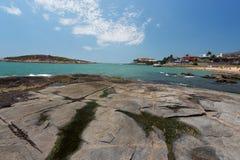 Vitoria Ilha do Boi stock photo