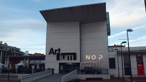 Vitoria Modern Art Museum. Vitoria Gasteiz Basque Country Artium Museum Royalty Free Stock Photography