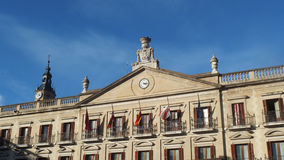 Vitoria Old Buildings City Square. Vitoria Gasteiz Basque Country Spain Royalty Free Stock Photo