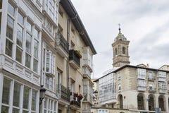 Vitoria stad Arkivbilder