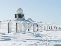 Vitosha-Berg im Schnee Lizenzfreie Stockfotos