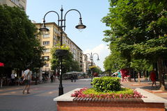Vitosha place Royalty Free Stock Photos