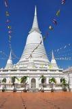 VitPagodas med sjunker Royaltyfri Bild