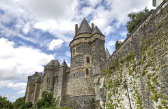 Vitré, Brittany Royalty Free Stock Images