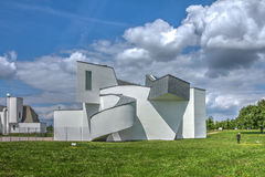 Vitra博物馆,德国 免版税库存照片