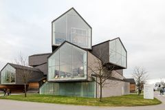 Vitra House as part of the Vitra Design Museum Royalty Free Stock Images