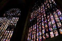 Vitrage im Duomo Lizenzfreie Stockfotografie