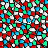 Vitrage seamless pattern. Royalty Free Stock Photo