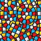 Vitrage seamless pattern. stock photo