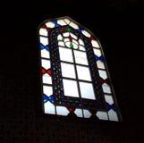 Vitrage sur le verre dans le harem dans le palais historique de Topkapi photos stock