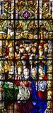 Vitrage window - Interior of church in Monastery of Jeronimos, Li Stock Photography