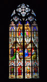 Vitrail in Koln Dom Cologne Cathedral. View of vitrail paint in Koln Dom in Germany, Cologne Cathedral Stock Photos