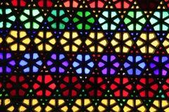 Vitral colorido Fotografía de archivo