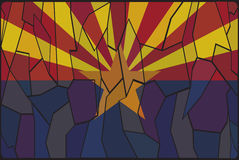Vitral de Arizona libre illustration