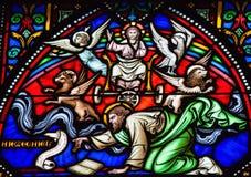 Vitral de Ezekiel del profeta imágenes de archivo libres de regalías