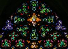 Vitral - deus no céu imagens de stock royalty free