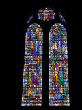 Vitral en la catedral de Liverpool Imagen de archivo libre de regalías