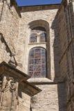 Vitral en la iglesia colegial de Santa Maria Foto de archivo libre de regalías