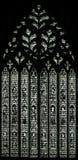 Vitral en la iglesia de monasterio de York - el corazón de Yorkshire A Fotos de archivo