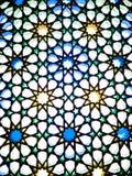 Vitral oriental en Medina Imagenes de archivo