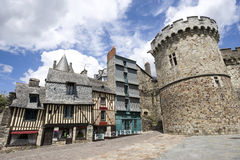 Vitre, Bretaña, Bretaña Fotos de archivo