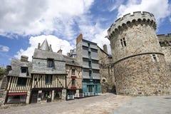 Vitre, Bretagne, Bretagne Stock Foto's