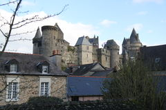 Vitre Castle Royalty Free Stock Images