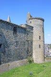 Vitre castle, France. Exterior walls of Vitre Castle, Brittany Stock Photo