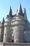 Vitre castle, France Stock Photography