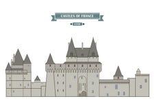 Vitre castle, France Royalty Free Stock Photography