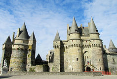 Vitre castle, France Stock Photos