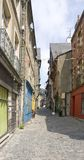 Vitre. Street scenery of Vitre in Brittany, France Royalty Free Stock Image