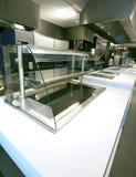 Vitrine van de keuken Royalty-vrije Stock Afbeeldingen