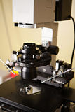 In Vitro Lab Microscope Equipment Stock Images